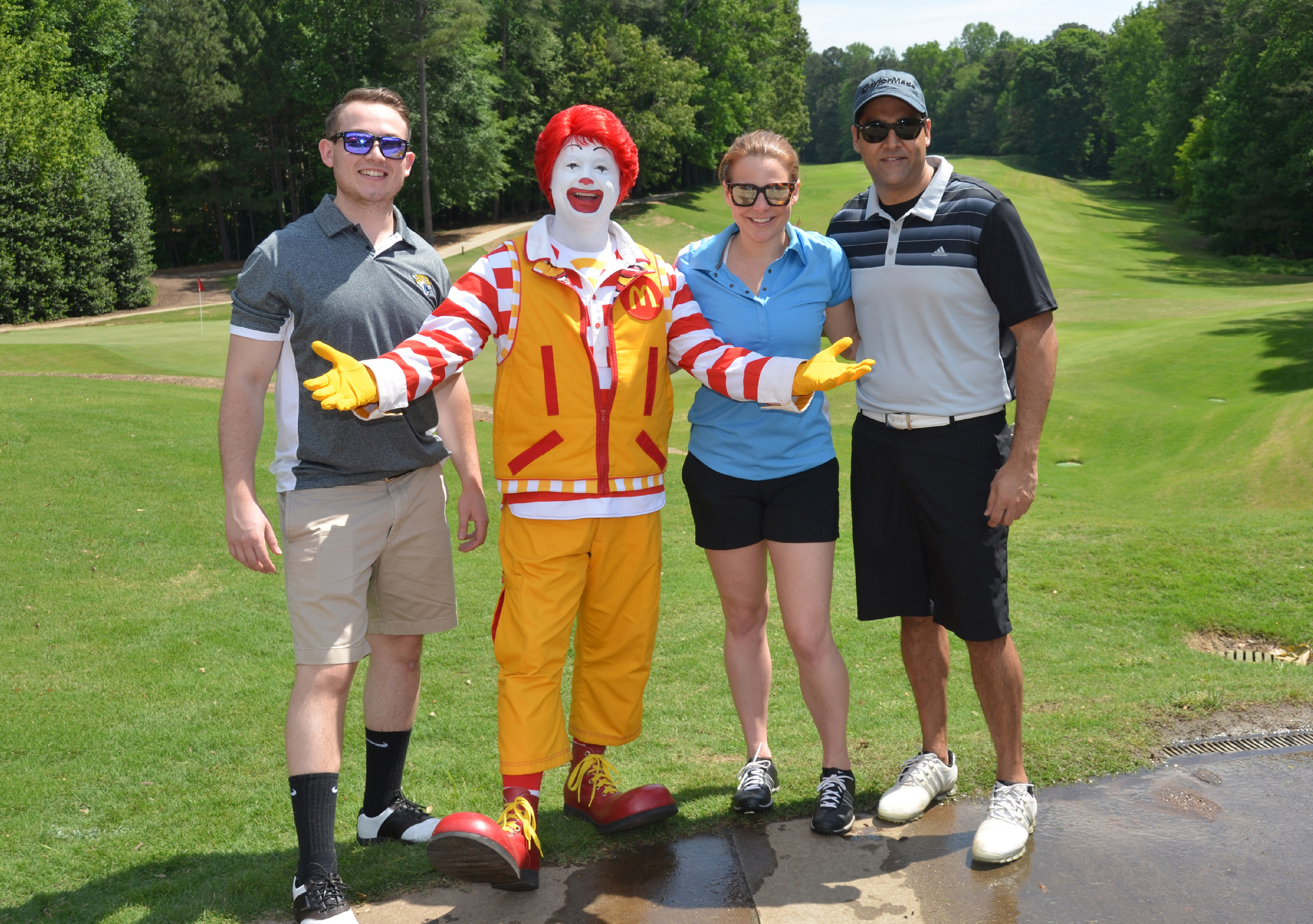 KMS Gives Golfs for Ronald McDonald House of Atlanta