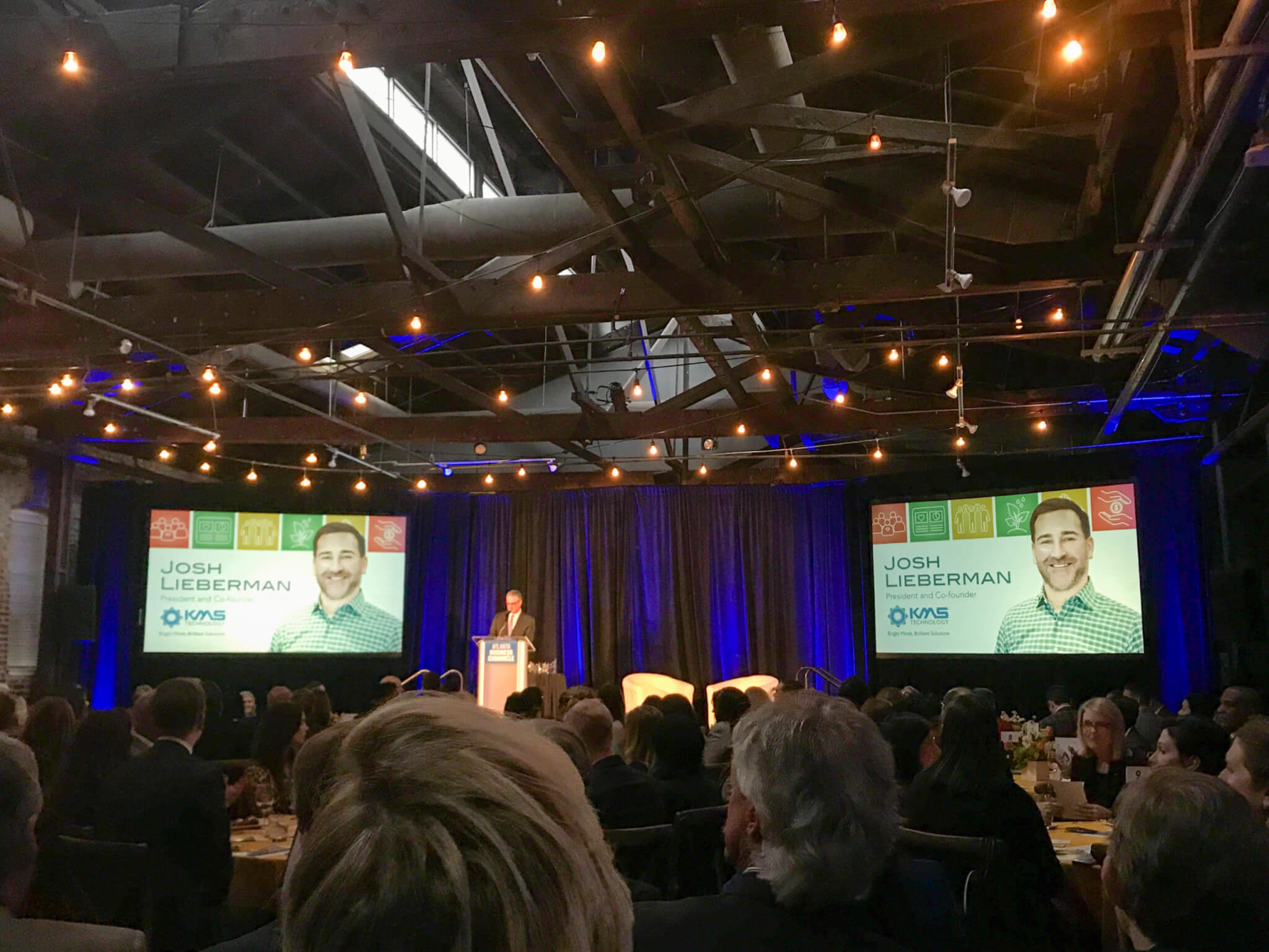 """KMS President Josh Lieberman named """"Leader in Corporate Citizenship"""" by the Atlanta Business Chronicle"""